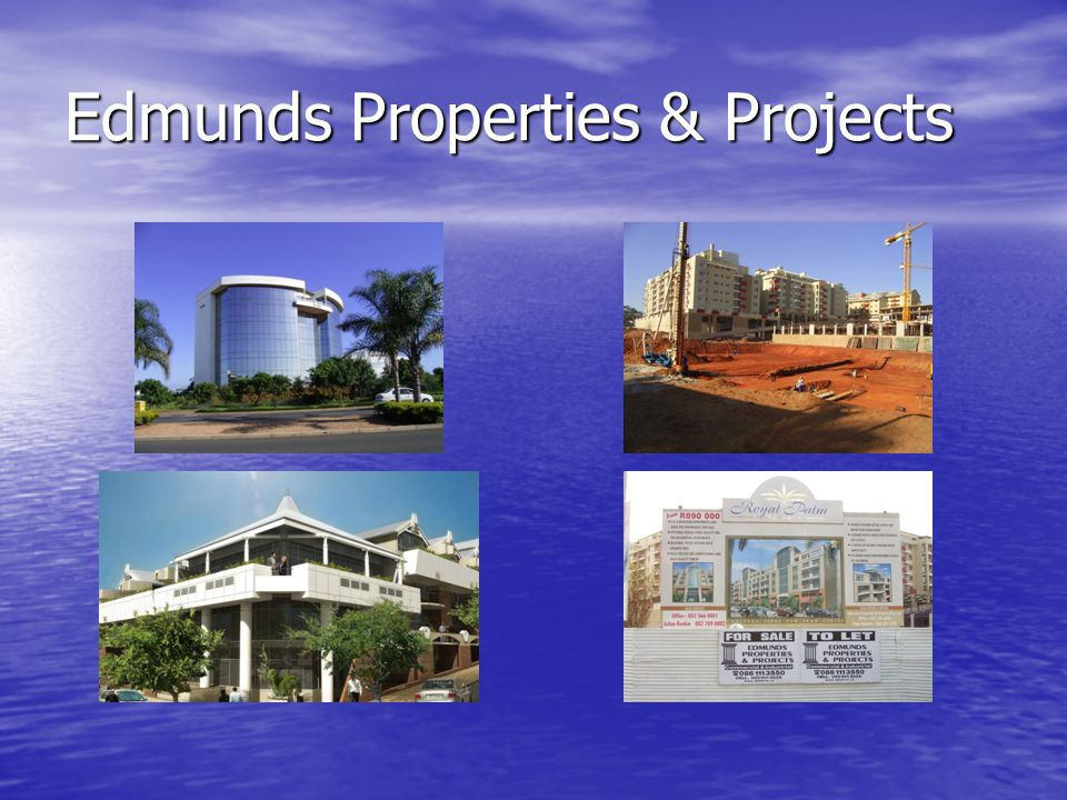 Edmunds Properties & Projects