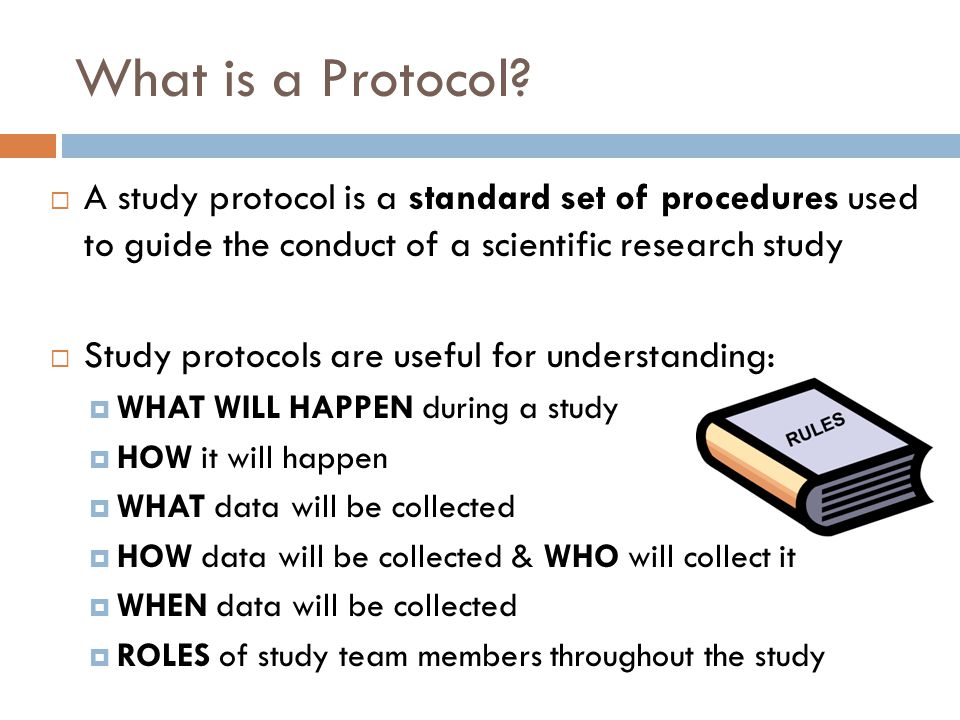 What is a Protocol.