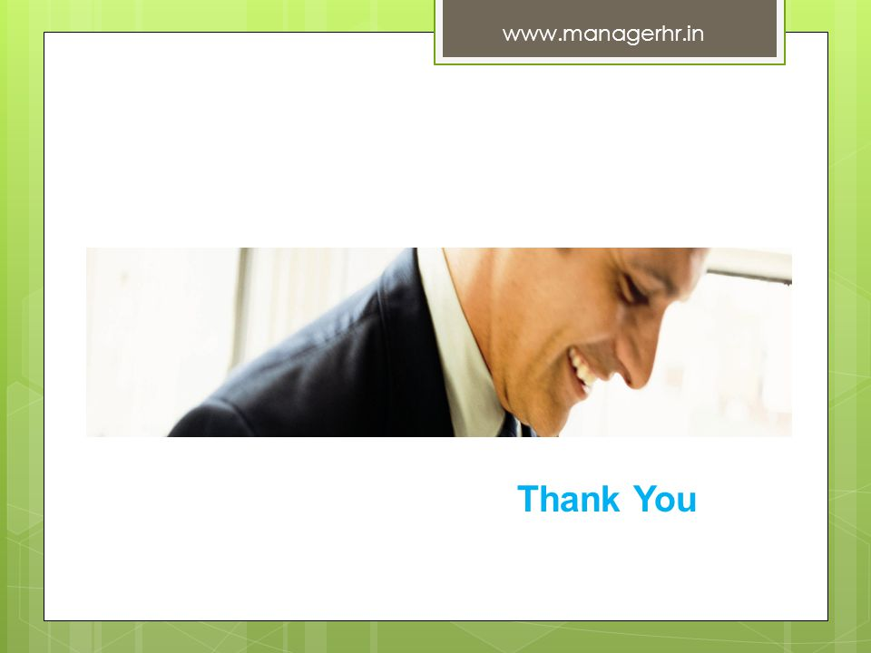 Thank You www.managerhr.in