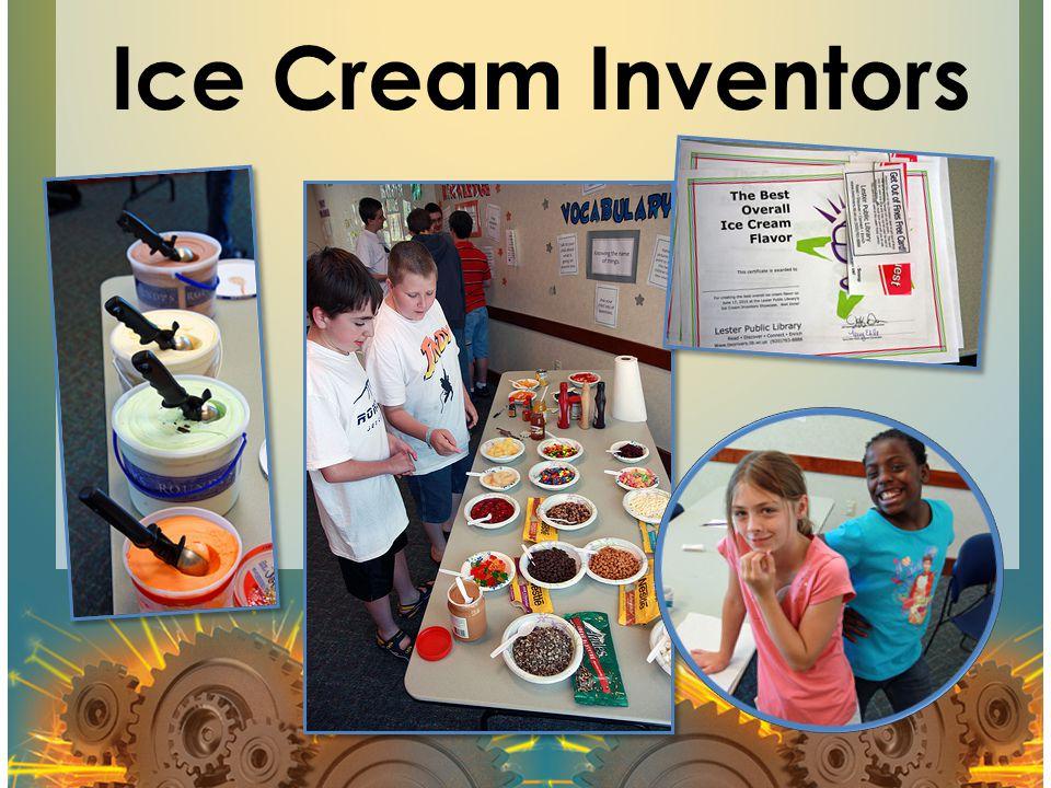 Ice Cream Inventors