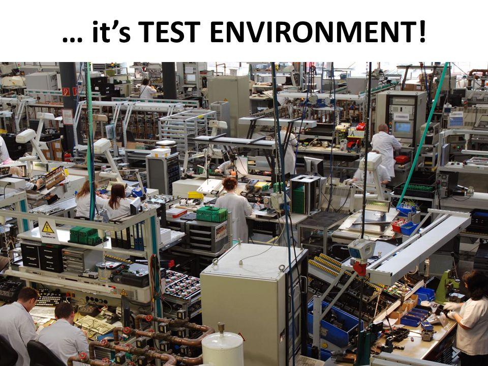 Mark Walton CzechTest 2013 «Virtual Test Environment» 3 (43) Slide 3 (300) … its TEST ENVIRONMENT!