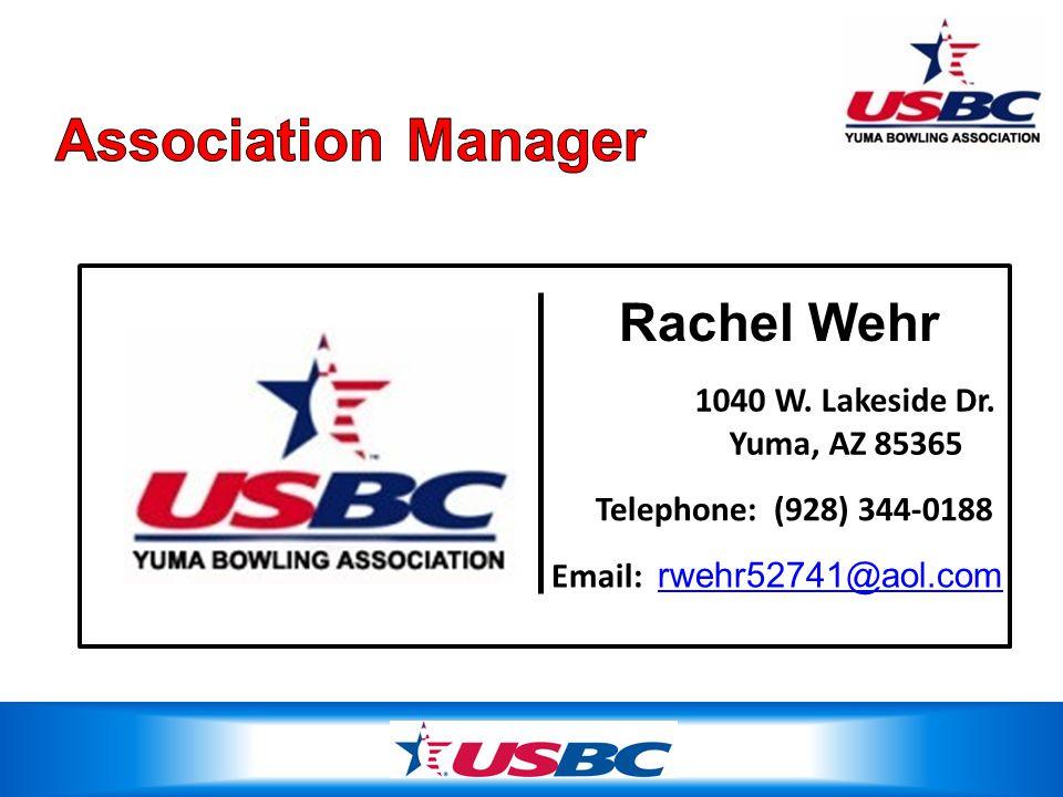 Rachel Wehr 1040 W. Lakeside Dr. Yuma, AZ 85365 Telephone: (928) 344-0188 Email: rwehr52741@aol.com rwehr52741@aol.com