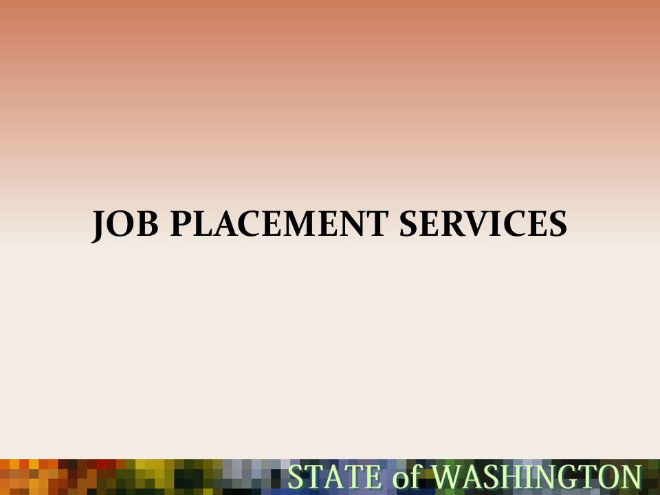 JOB PLACEMENT SERVICES