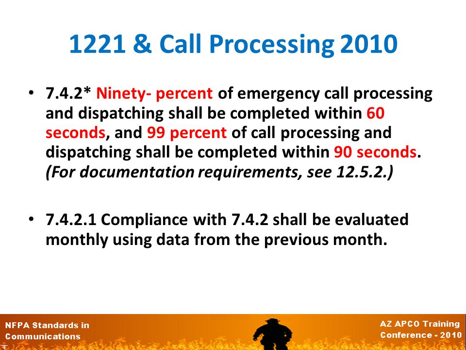 1221 & Call Answering 3.3.1* Alarm. A signal or message from a person or device indicating the existence of a fire, medical emergency, or other situat
