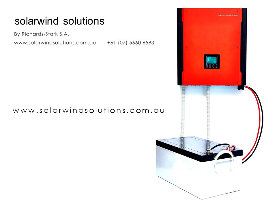 solarwind solutions www.solarwindsolutions.com.au