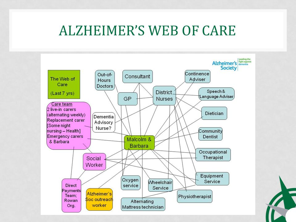 ALZHEIMERS WEB OF CARE