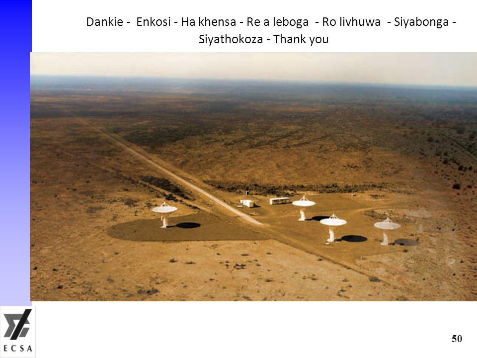 Dankie - Enkosi - Ha khensa - Re a leboga - Ro livhuwa - Siyabonga - Siyathokoza - Thank you 50