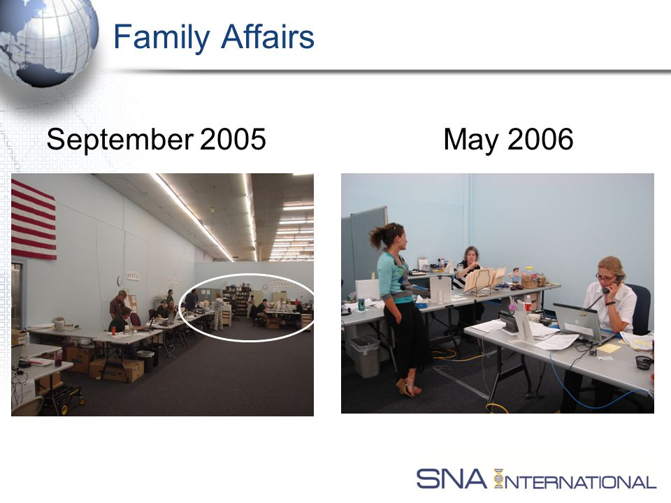 Family Affairs September 2005May 2006