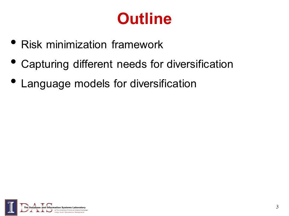 Comparison of 4 MMR Methods CC - Cost-based Combination QB - Query Background Model MQM - Query Marginal Model MDM - Document Marginal Model