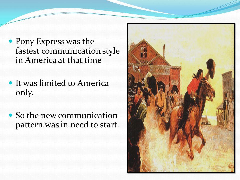 In 1823, Samuel Morse invented Telegraph.