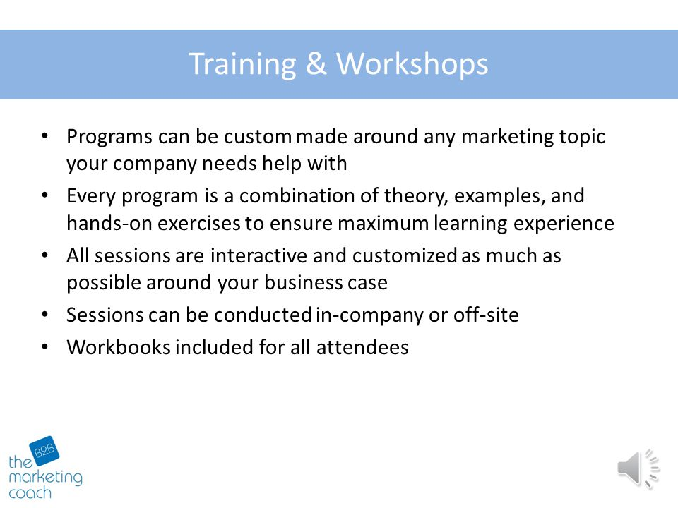Added Value Differentiation Workshop Topics: Your offering vs.