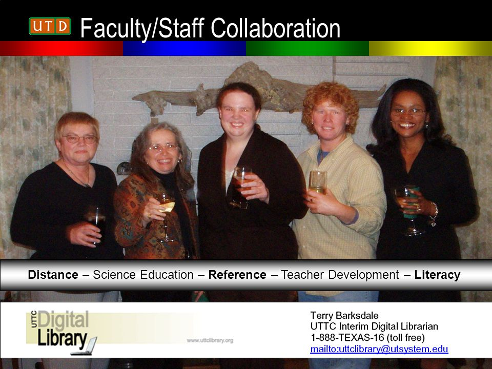 Faculty/Staff Collaboration Distance – Science Education – Reference – Teacher Development – Literacy