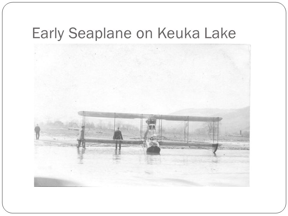 Early Seaplane on Keuka Lake
