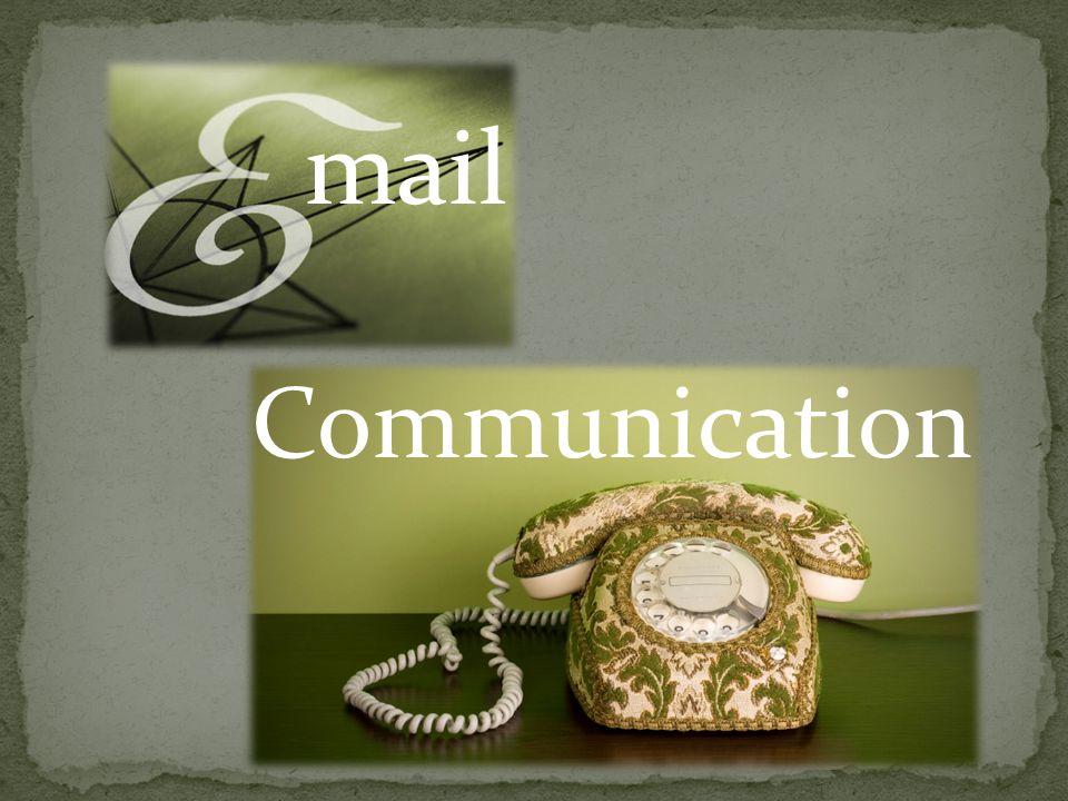 mail Communication