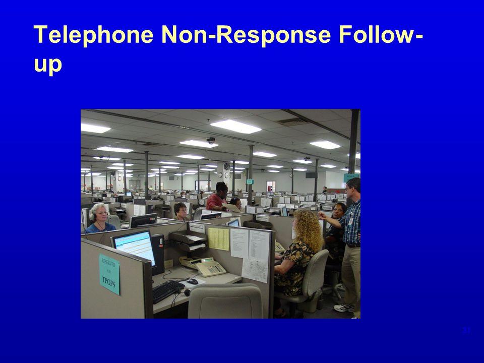 Telephone Non-Response Follow- up 31