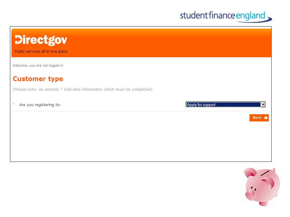 www.direct.gov.uk/studentfinance