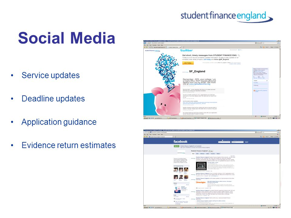 Website: CSO: 0845 300 5090 Support & Signposting from Practitioners Social Media: Literature: IAG Support for Students