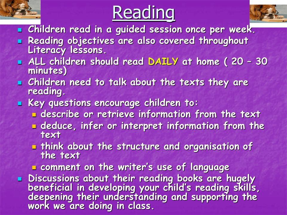 Literacy ( Reading, Writing, Speaking and Listening, Spelling and Handwriting) This is taught as a whole class which is then broken down into smaller