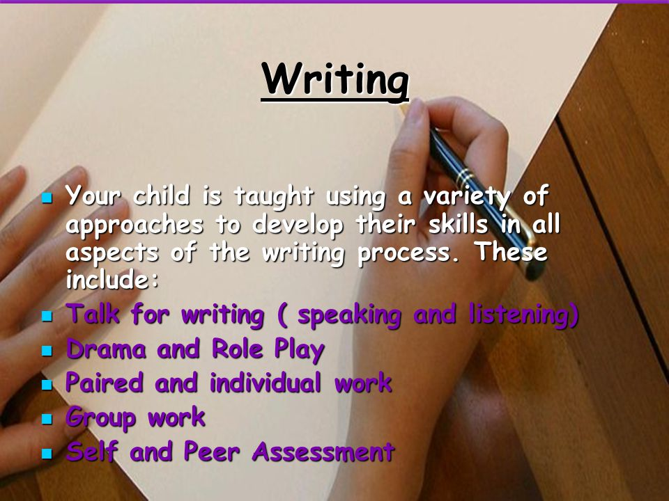Assessment of Reading Your child will be assessed within the first few weeks of term on word finding and their levels of comprehension. This will dete