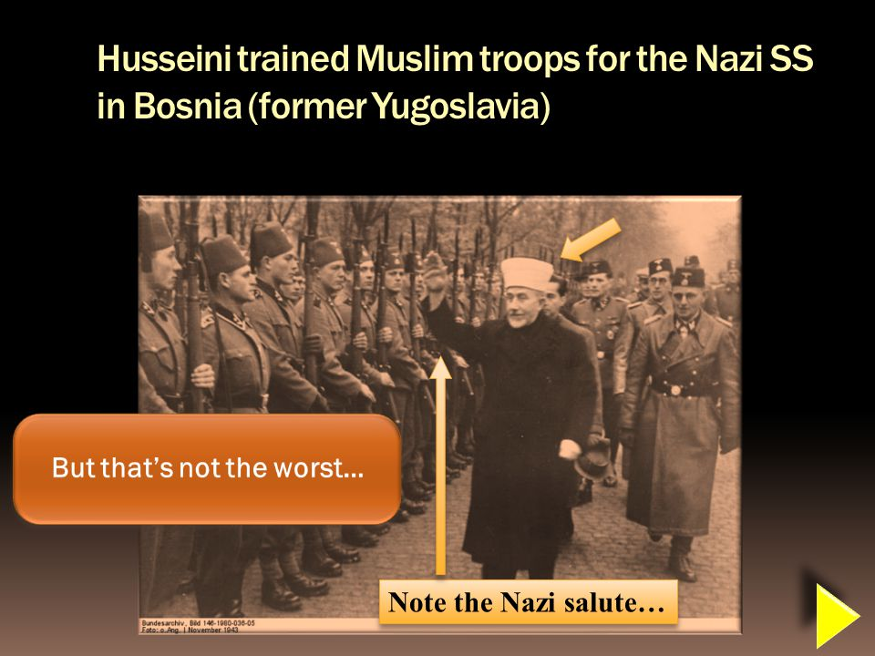 Who did Husseini meet with in november of 1941
