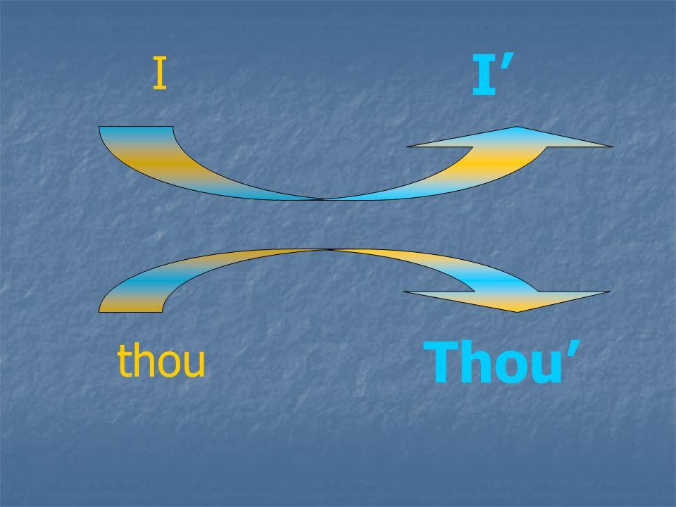 I I thou Thou