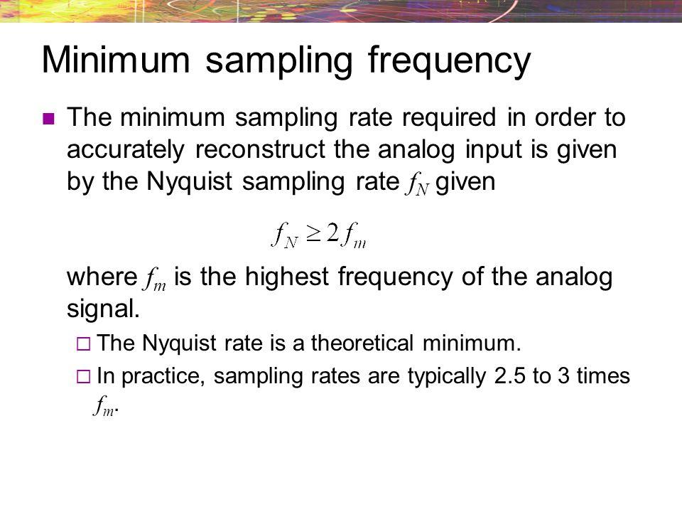 Uniform quantization Thus far we have assumed equal spacing between all of our quantizer levels.