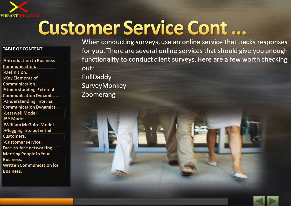 When conducting surveys, use an online service that tracks responses for you.
