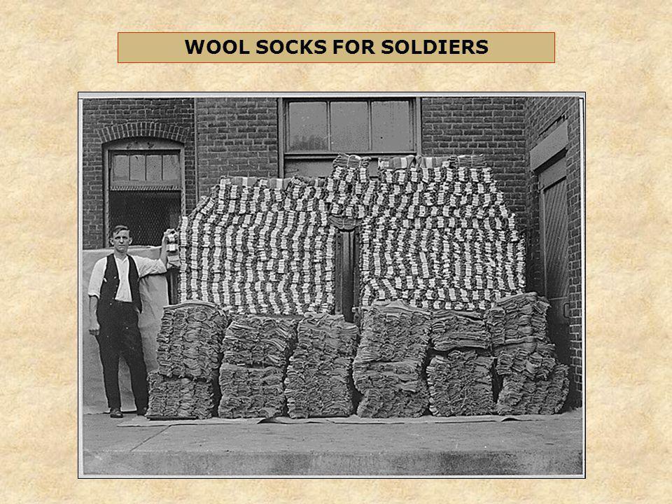 WOOL SOCKS FOR SOLDIERS