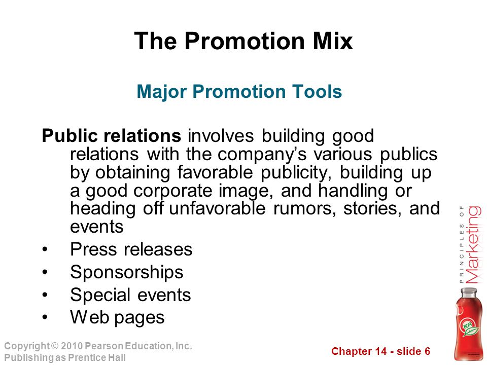 Chapter 14 - slide 7 Copyright © 2010 Pearson Education, Inc.