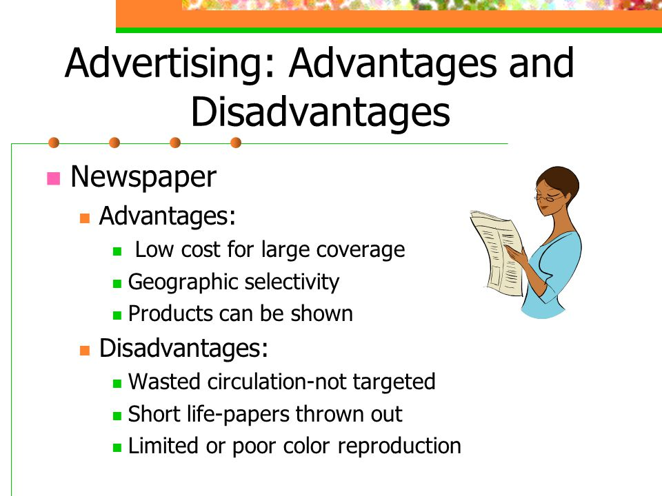 written reports advantages and disadvantages