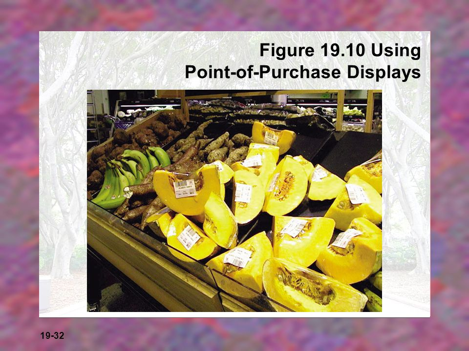19-32 Figure 19.10 Using Point-of-Purchase Displays