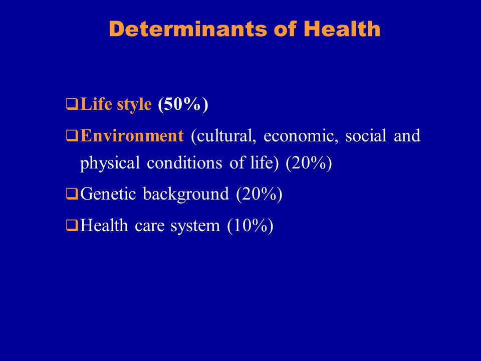 Components of Health Promotion Health protection implemented by public health policy Health education Intervention programmes