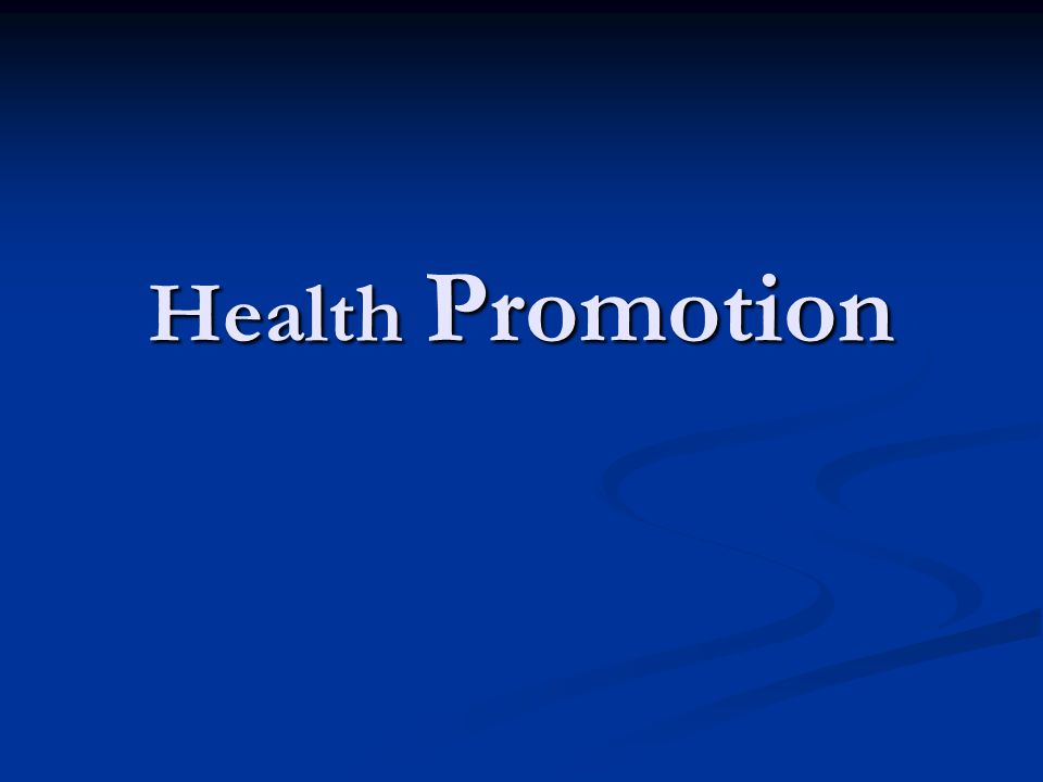 OTTAWA CHARTER DEFINITION OF HEALTH PROMOTION Health promotion is the process of enabling people to increase control over, and to improve, their health.