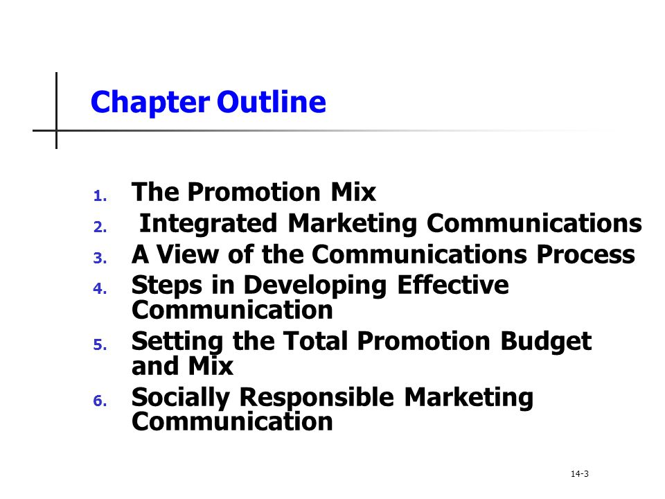 The Promotion Mix The promotion mix is the specific blend of advertising, public relations, personal selling, and direct-marketing tools that the company uses to persuasively communicate customer value and build customer relationships 14--4