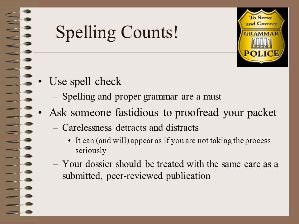 Spelling Counts.