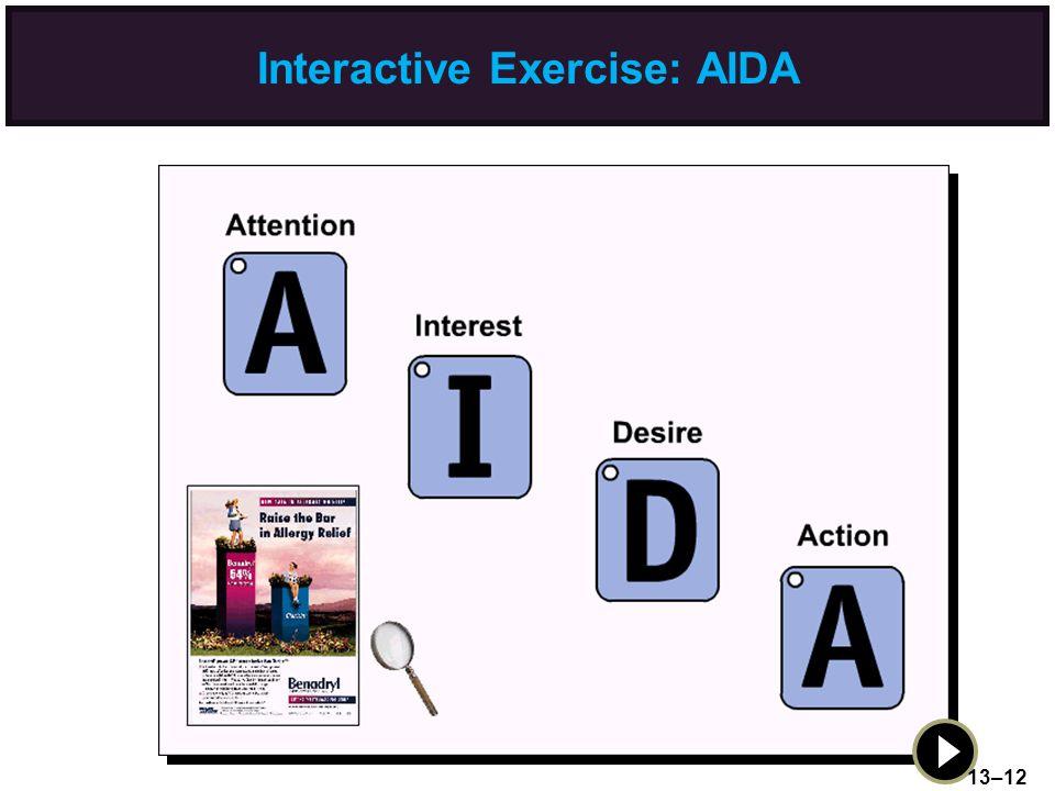 Interactive Exercise: AIDA 13–12