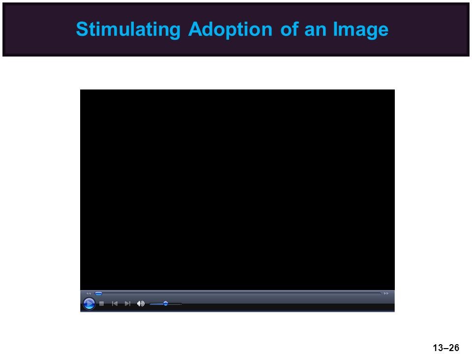Stimulating Adoption of an Image 13–26
