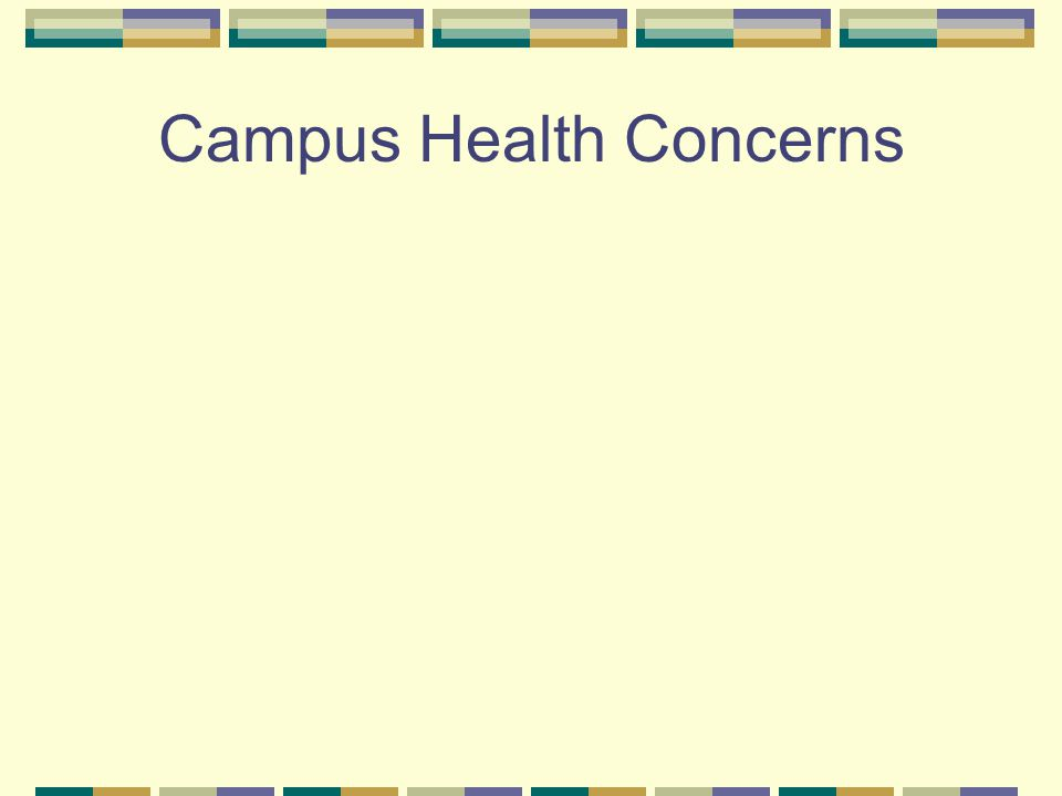Campus Health Concerns