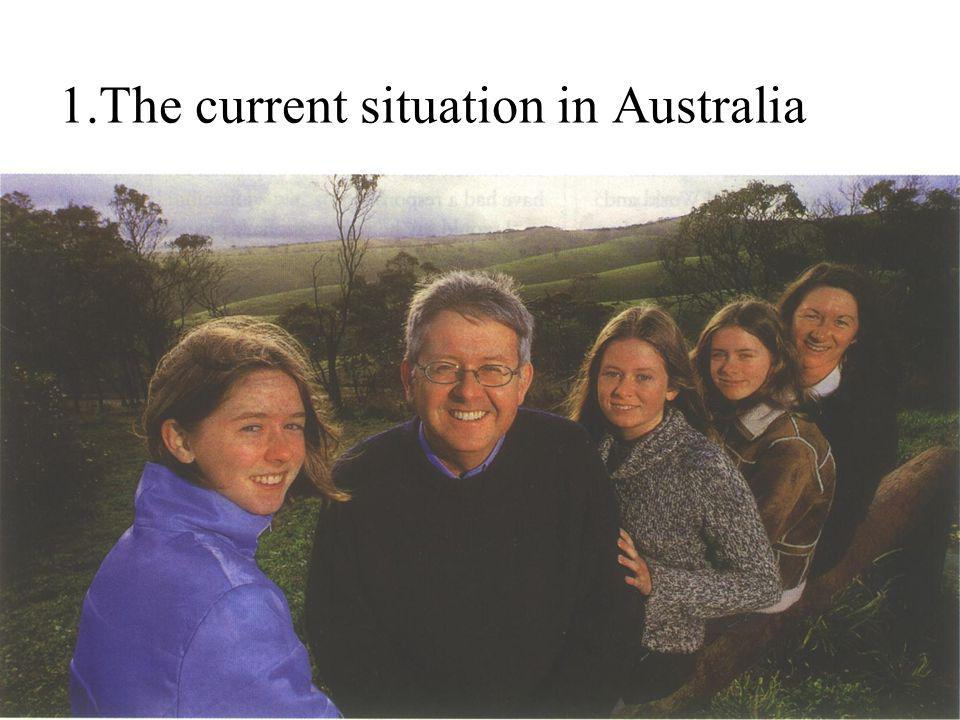 3 1.The current situation in Australia