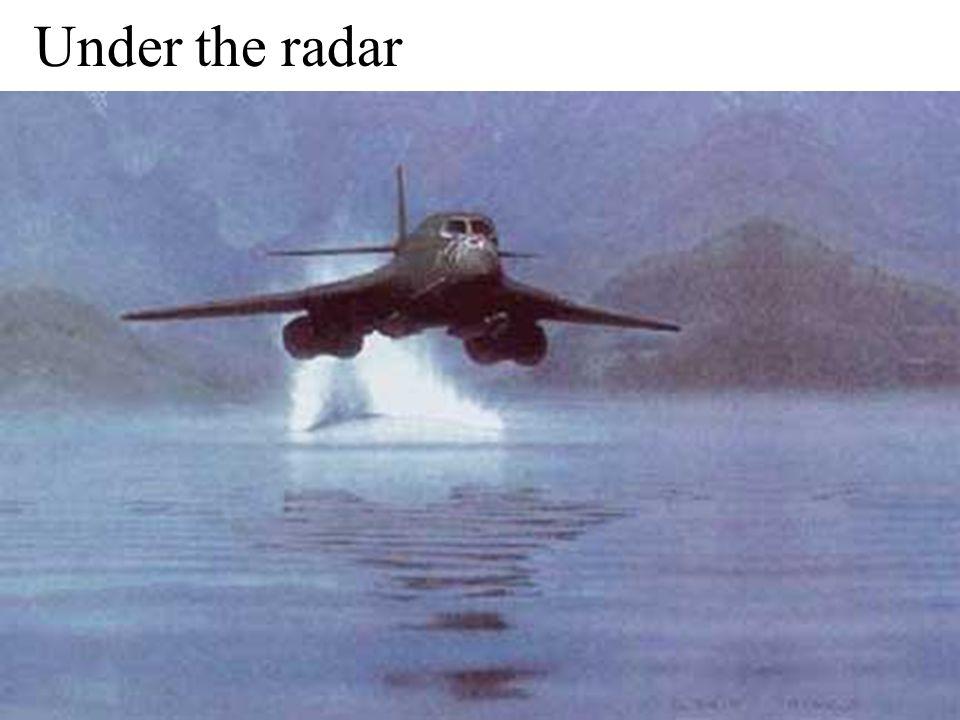 36 Under the radar