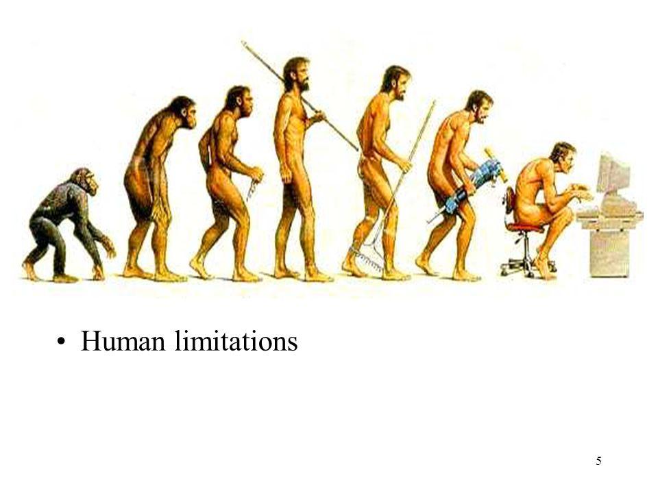 5 Human limitations