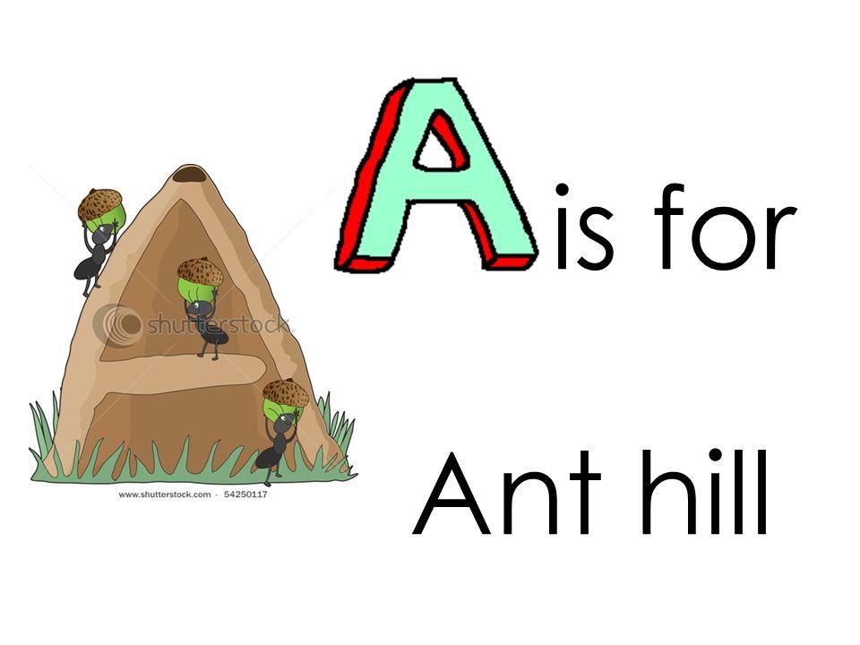 is for alligator