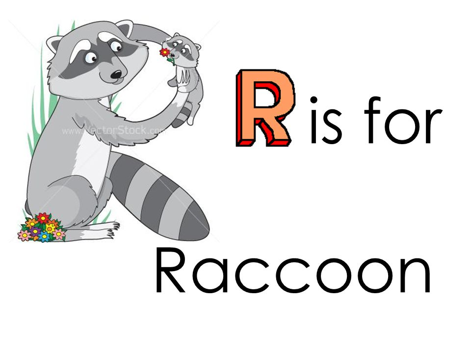 is for rainbow r
