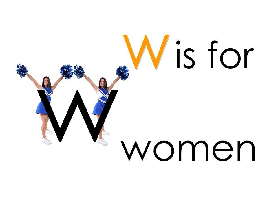 is for women w