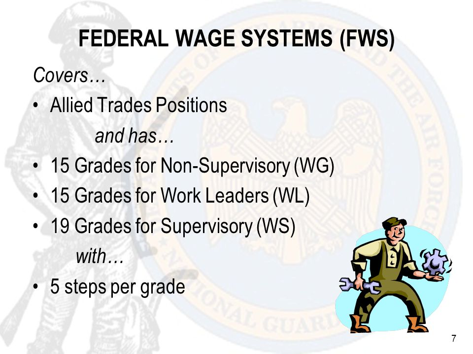 18 Based on a regular tour of duty Appointment longer than 90 days Highest actual rate of basic pay received while Federally employed 5 CFR 531.203(c) & 532.405 HIGHEST PREVIOUS RATE