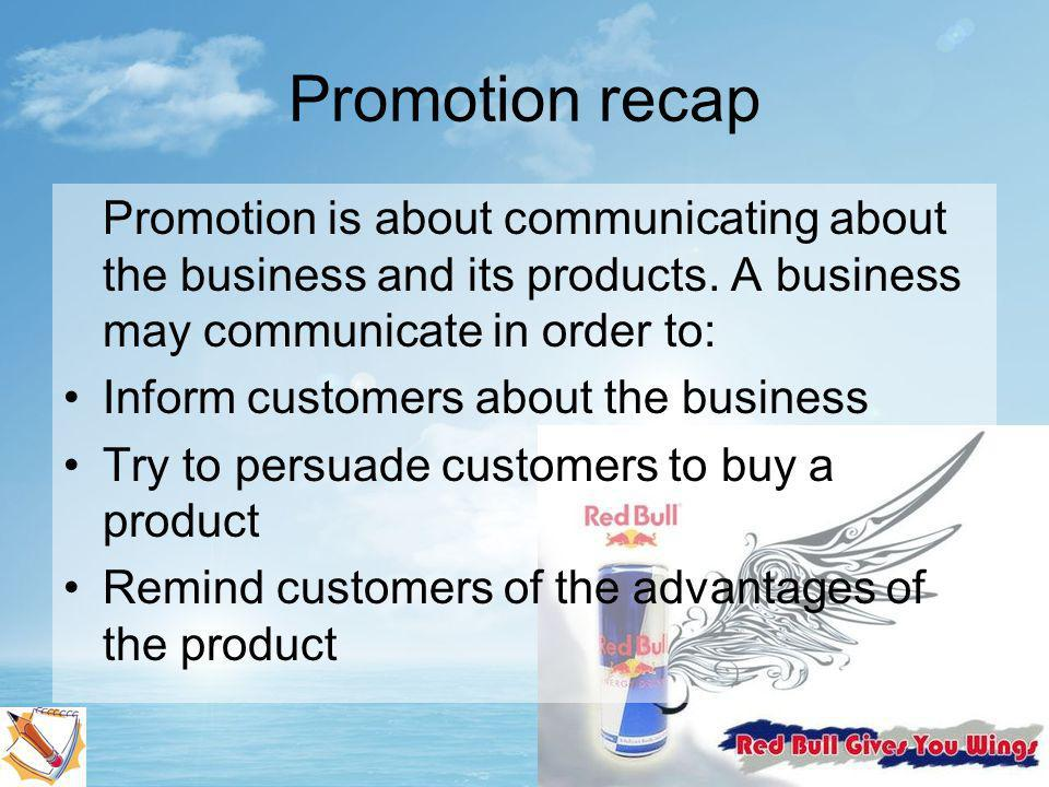 What is promotion???