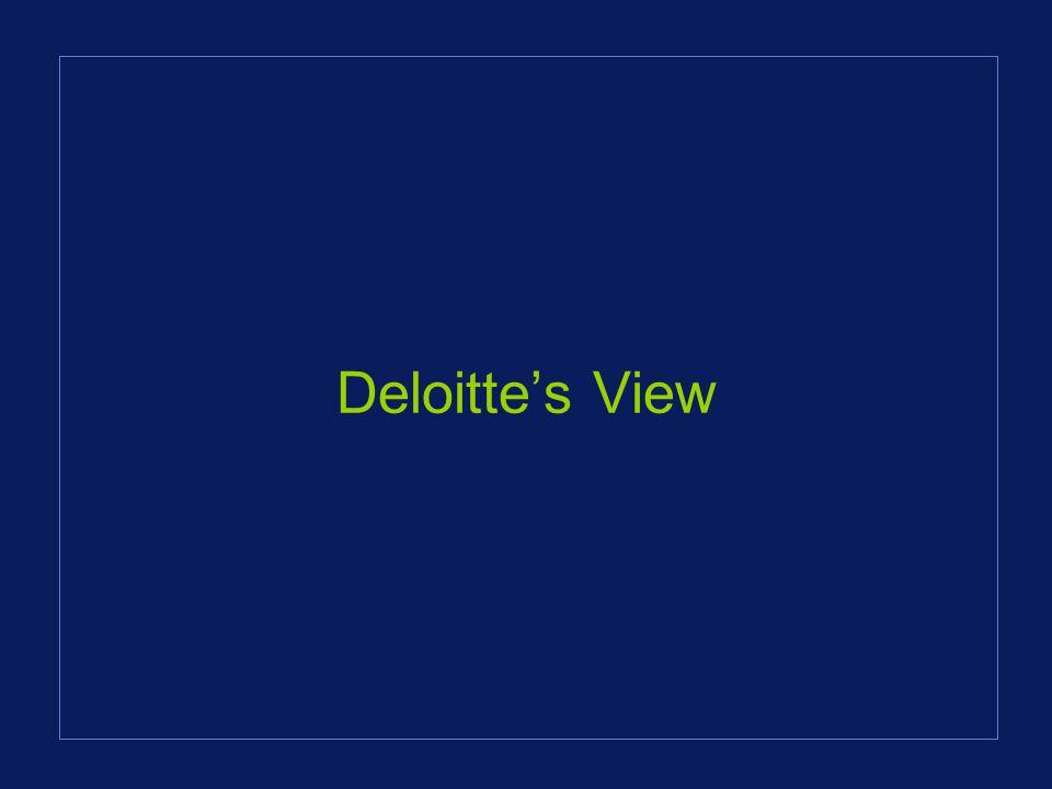 Deloittes View