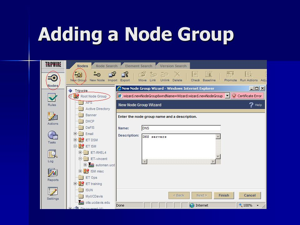 Adding a Node Group