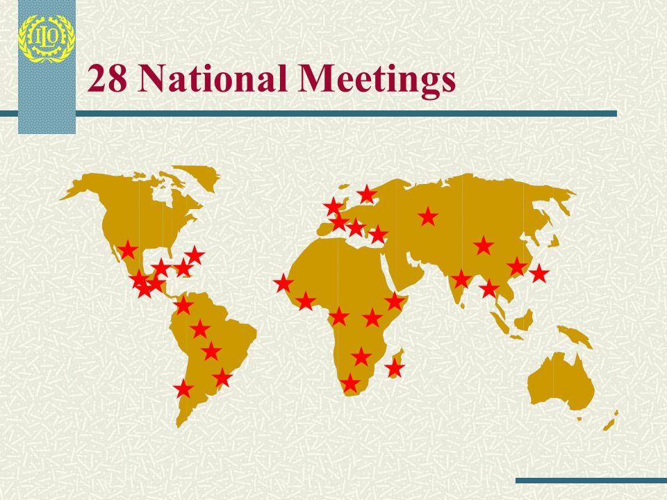 18 Regional Meetings