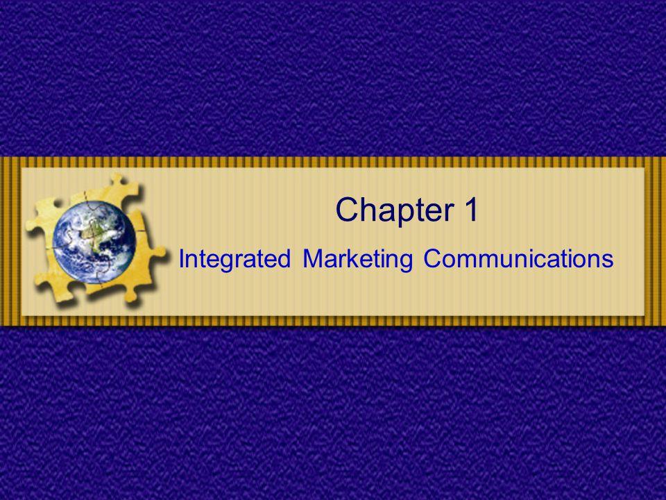 Chapter 1: IMC Situation Analysis External analysis.